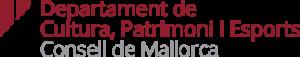Logo Departament de Cultura, Patrimoni i Esports CM2019-low